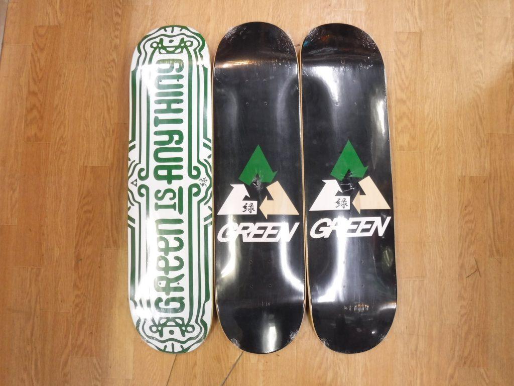 グリーンスケートボード,名古屋,GREEN,SKATEBOARD,スケボー,ひろまん