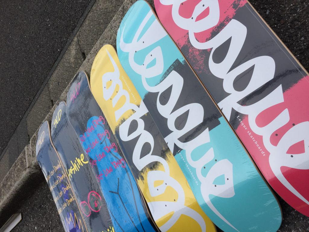 lesuque & sld skateboards