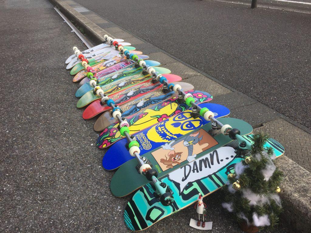 スケートボード,コンプリート