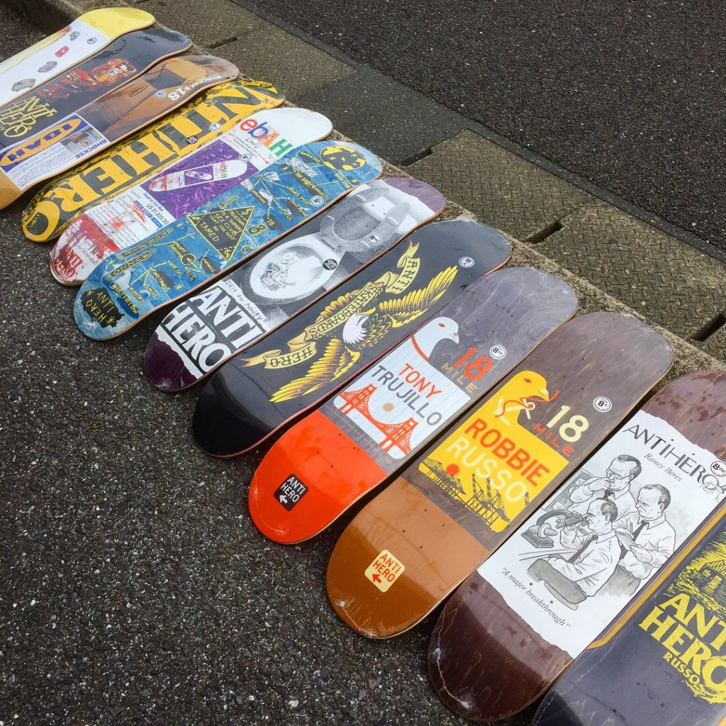 antihero skateboard deck